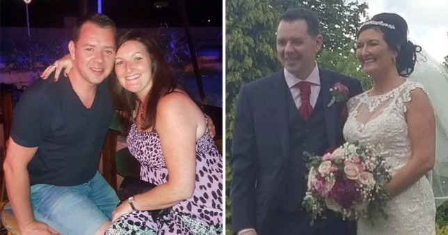 Chris Mallon suffered severe injuries after falling from stairs on his wedding night