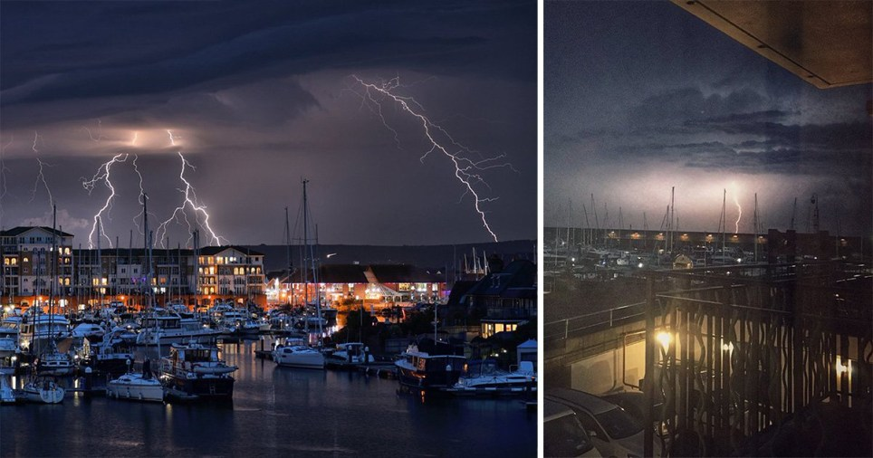 England and Wales are headed for thunderstorms (Picture: SWNS)