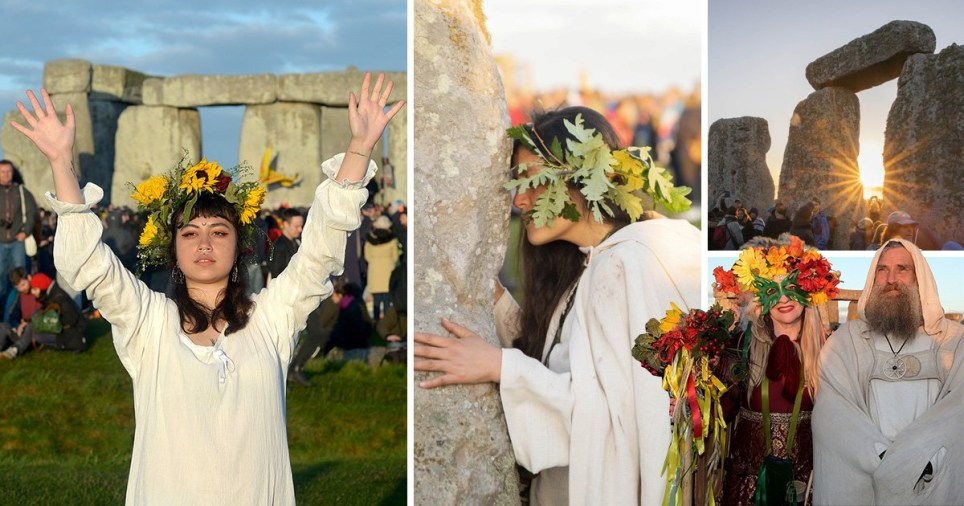 Summer solstice pictures as crowds gather at Stonehenge for longest day of the year