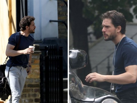 Game Of Thrones' Kit Harington looks relaxed as he's spotted in London after rehab stint