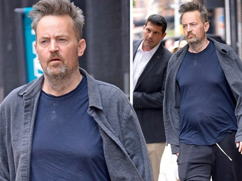 Matthew Perry makes rare public appearance after surgery as Jennifer Aniston teases Friends reunion