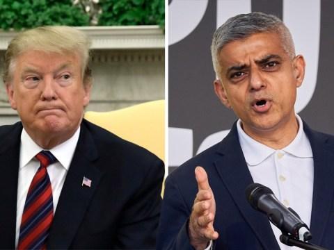 Sadiq Khan calls Donald Trump a 'six-foot-three child'