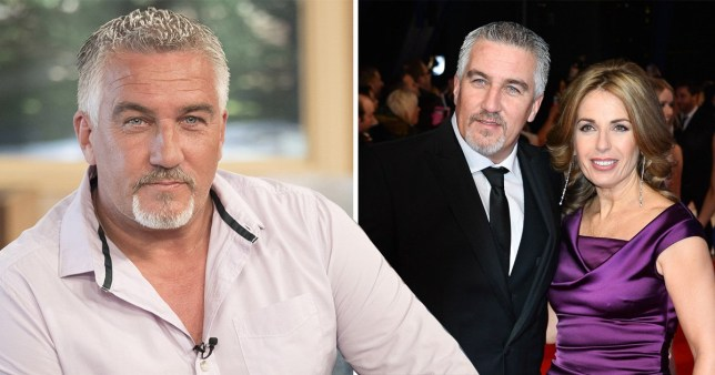 Paul Hollywood's girlfriend blazes his name across her chest on day of divorce