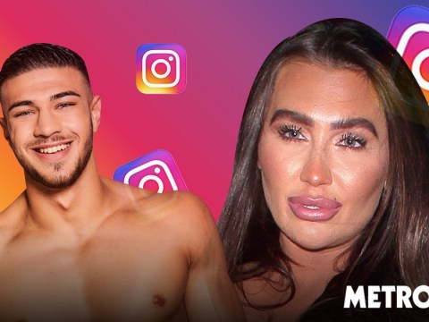 Lauren Goodger slid into Love Island's Tommy Fury's DMs after commenting 'sexy' on a photo when he was 19