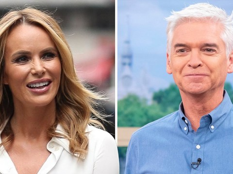 What has Amanda Holden said about Phillip Schofield?