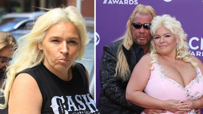 ee20541f4f42d Dog the Bounty Hunter's wife Beth Chapman in a coma amid cancer struggle