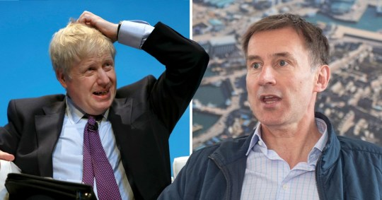 Johnson and Hunt are the final two in the contest to become Tory leader