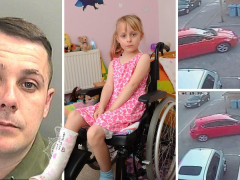 Girl, 6, dragged under disqualified driver's car as she played outside her home
