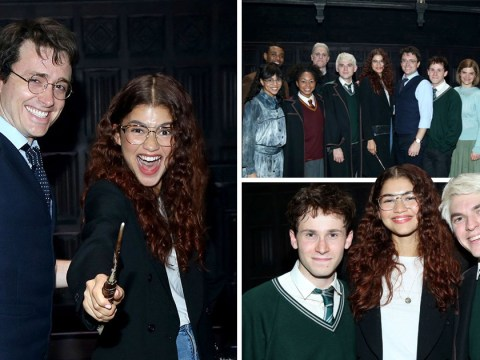 Zendaya is super excited for Harry Potter and the Cursed Child on Broadway
