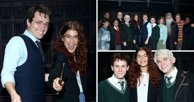Zendaya sees Harry Potter on Broadway.