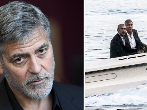 George Clooney ran into a spot of plumbing bother right before the Obamas' visit in Lake Como