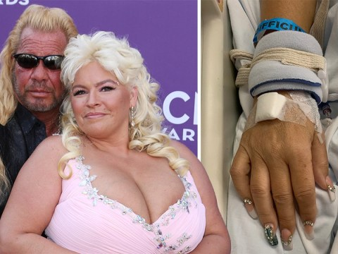 Dog The Bounty Hunter shows wife Beth Chapman is as glam as ever as she remains in coma