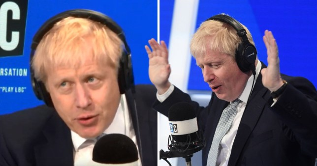 Boris Johnson looked weak and like he wanted to escape LBC interview, according to body language expert Judi James