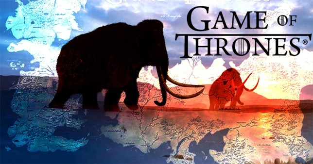 Game Of Thrones will hopefully be seeing mammoths