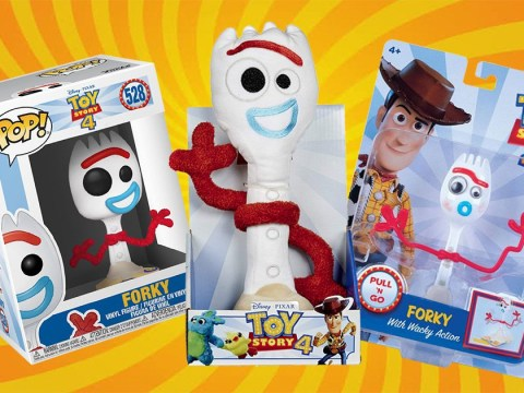 Can you buy a Forky toy from Toy Story 4 and if so from where?