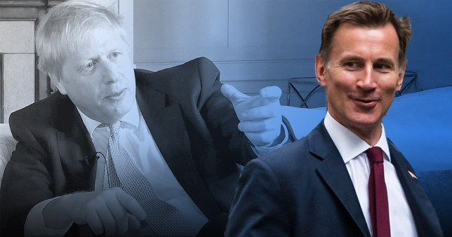 Boris Johnson has asked Jeremy Hunt what he thinks is an acceptable delay