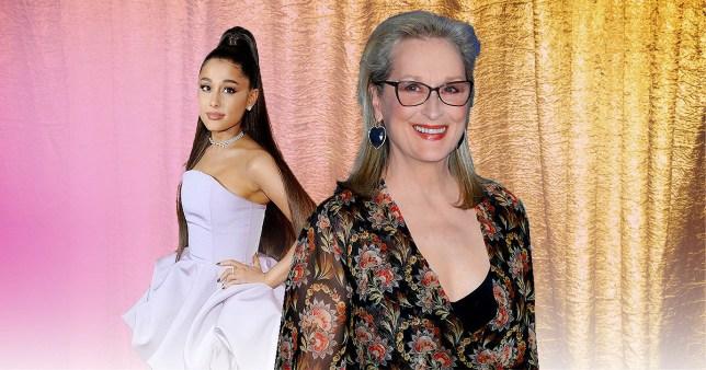 Meryl Streep and Ariana Grande