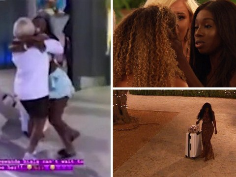 Love Island's Yewande Biala arrives home to her pals greeting her like the absolute QUEEN she is