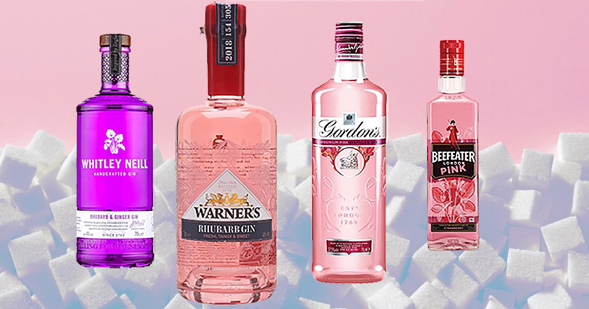 Some of a gins  - WHitley Neill, Warners, Gordons and Beefeater