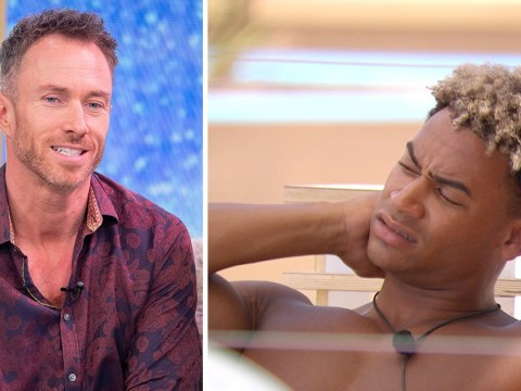 Dancing On Ice's James Jordan blasts Love Island's Jordan Hames for breaking 'man code'