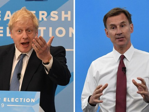 Boris Johnson and Jeremy Hunt set out policies on Brexit, taxes and the NHS