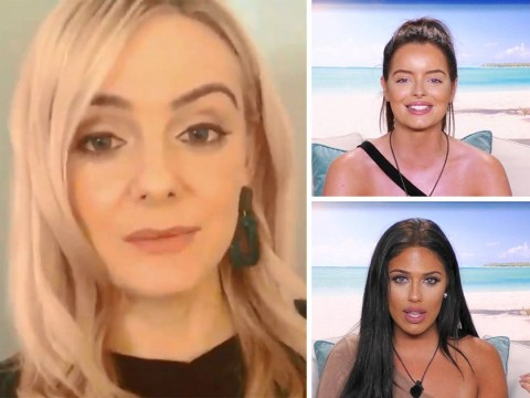 Comedian Steff Todd at it again with way too accurate impressions of Love Island's Maura Higgins and Caroline Flack