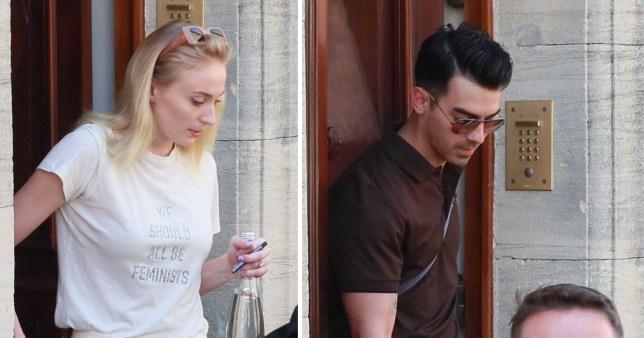 Sophie Turner and Joe Jonas in France for their wedding