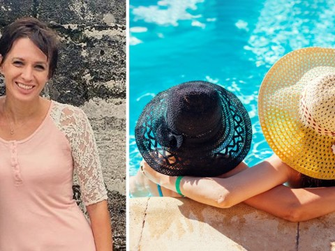 Woman calls out mum for fake Instagram photoshoot with her daughter at the pool