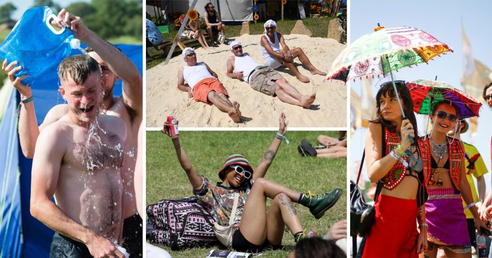 Glastonbury Festival 2019 is going to be the hottest place in the country today