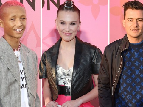 Orlando Bloom, Jaden Smith and Millie Bobby Brown glam up for Louis Vuitton event