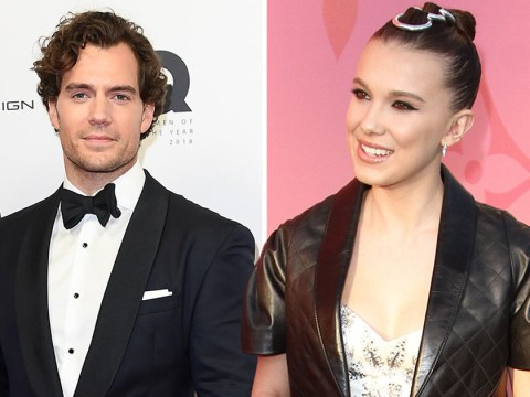 Henry Cavill joins Millie Bobby Brown for Sherlock Holmes film