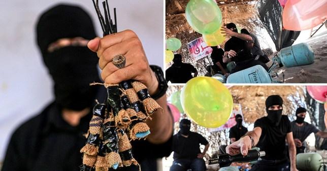 Israel lifts sanctions on Gaza Strip in bid to halt 'balloon bombs'