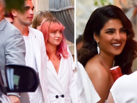 Maisie Williams and Ashley Graham glam-up for Sophie Turner and Joe Jonas' pre-wedding party in France