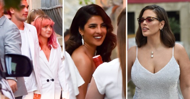 Ashley Graham Wedding.Maisie Williams Glams Up For Sophie Turner And Joe Jonas