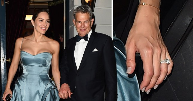 Katharine Mcphee And David Foster All Loved Up At Wedding Reception In London Metro News