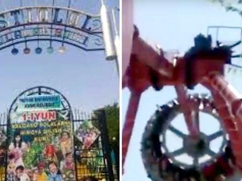 Woman, 19, dies after theme park ride breaks apart in mid-air
