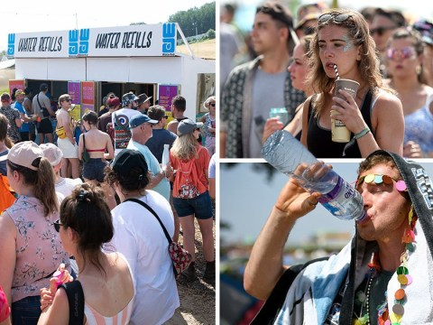 Glastonbury campers blast 'ridiculous' queues for water after plastic bottle ban