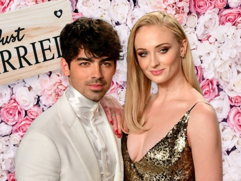 Sophie Turner and Joe Jonas shared 'emotional tears' during star-studded French wedding ceremony