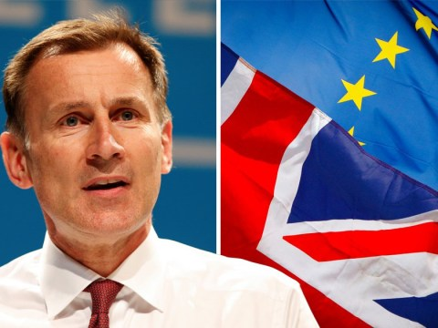 Jeremy Hunt might refuse to pay Britain's £39,000,000,000 Brexit divorce bill