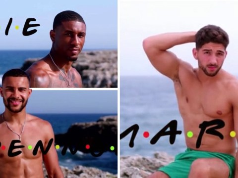 Love Island's Casa Amor men were given a Friends intro makeover and it's the crossover we've been waiting for
