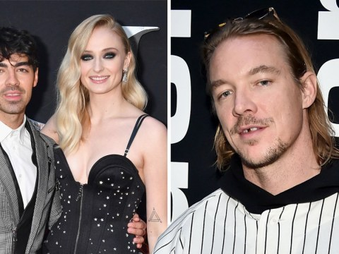 Diplo may have upset Glastonbury bosses after pulling out to go to Joe Jonas and Sophie Turner's wedding