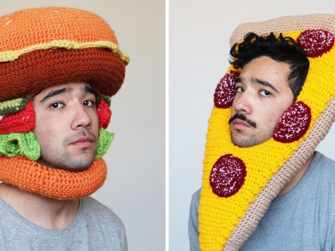 This artist brilliantly crochets giant food items for his Instagram feed
