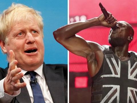 Boris Johnson thinks Stormzy was actually asking Glastonbury crowd to 'back Boris'