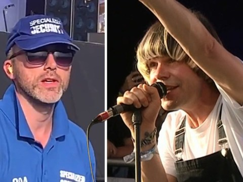 Glastonbury security guard wins chance to hang with The Charlatans after viral video