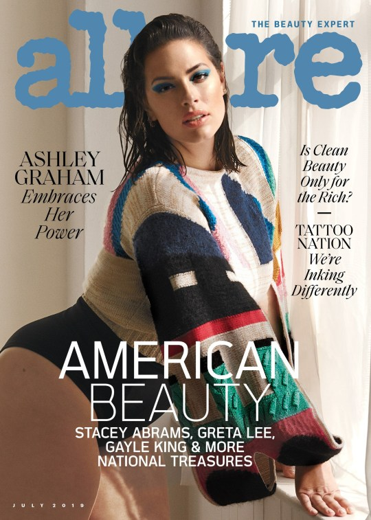 Ashley Graham on cover of Allure magazine