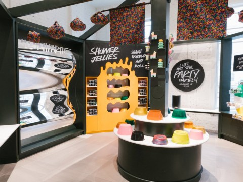 You can have a kid's birthday party at Lush stores around the UK