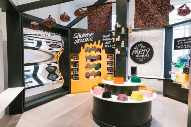 Lush is now doing children's parties