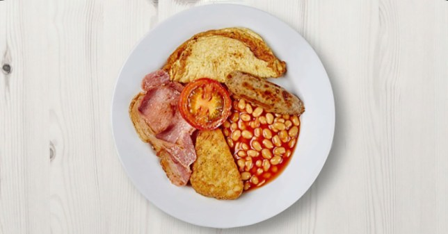 The new six-piece breakfast