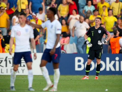 Dean Henderson gaffe gifts Romania victory as England crash out of Under-21 Euros in dramatic fashion