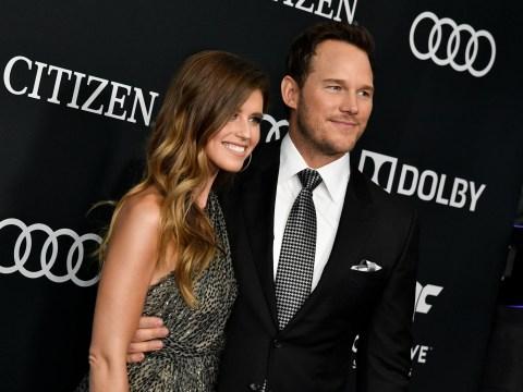 Katherine Schwarzenegger says husband Chris Pratt keeps her calm when she's stressed